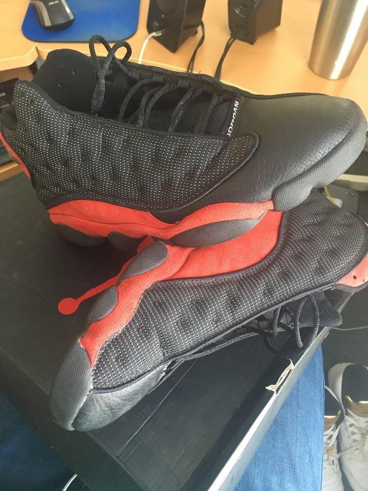 fcd1dd92c58a NIKE - AIR JORDAN RETRO 13 XIII - BRED - 3M (BLACK TRUE RED) 2004 (Men Size  13)  fashion  clothing  shoes  accessories  mensshoes  athleticshoes (ebay  link)