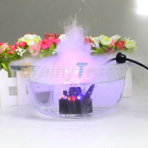 Details About 12 Led Ultrasonic Mist Maker Light Fogger