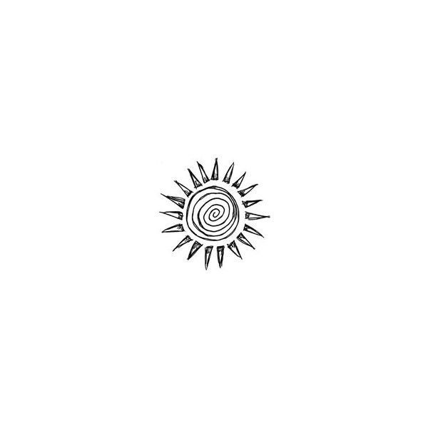 It is a photo of Modest Tiny Sun Drawing