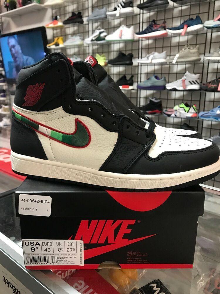 eBay  Sponsored Nike Air Jordan 1 Retro High OG 555088 015 Sports  Illustrated Men Size 42777c24b