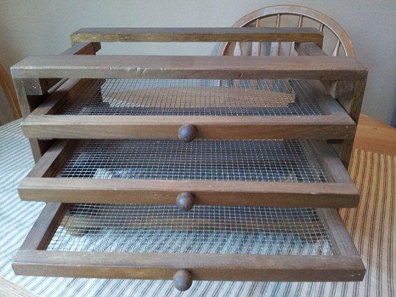 Vintage Wood Drying Rack I Like This