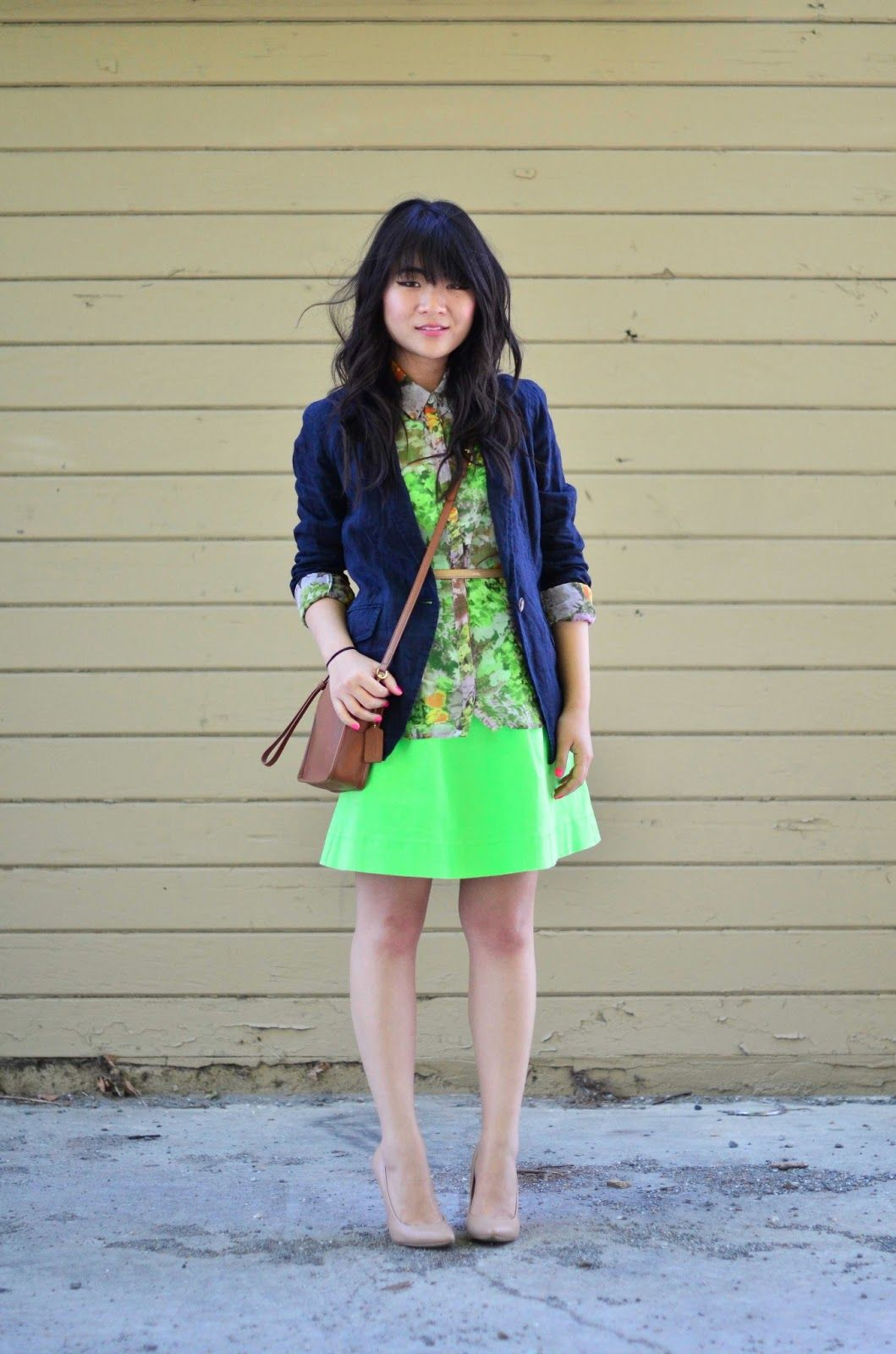 A gap blazer as featured on the blog daily disguise styld you