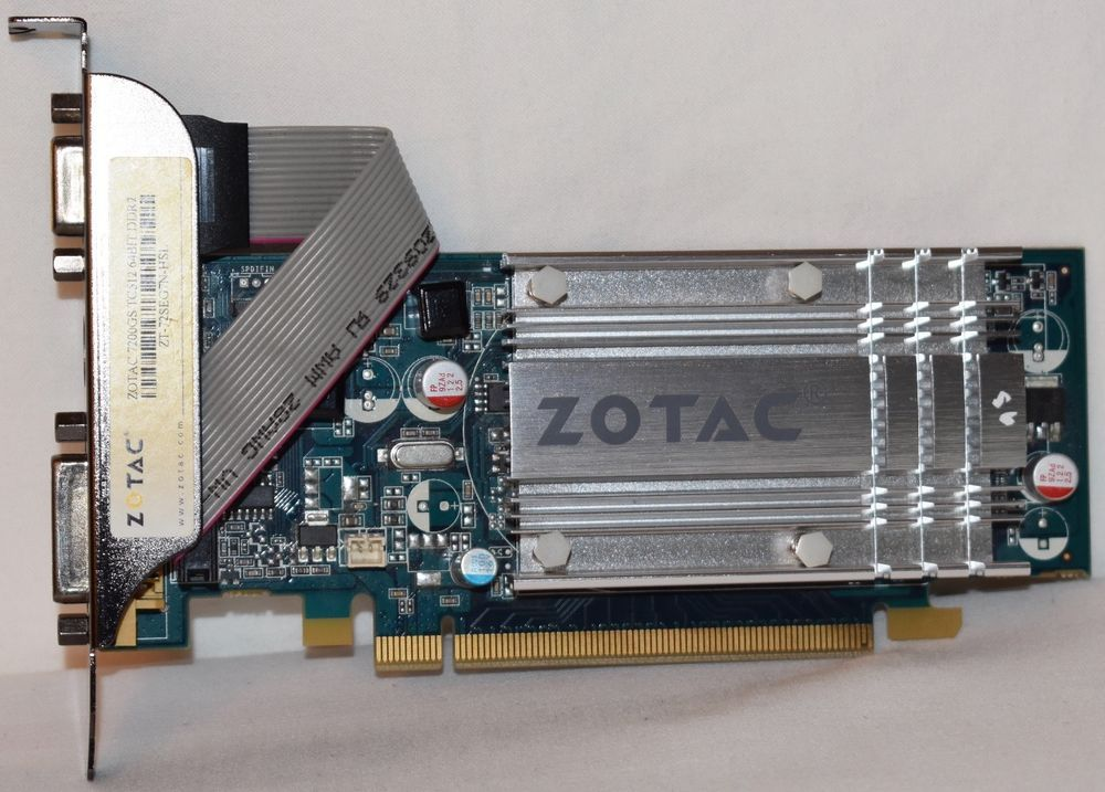 ZOTAC 7200GS 256MB 64BIT DDR2 DRIVER FOR WINDOWS