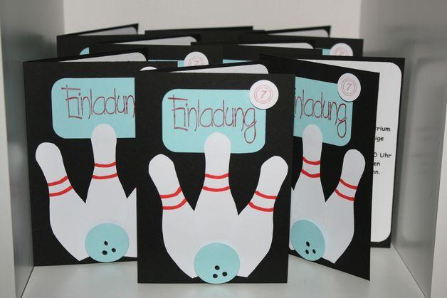 Photo of tolle Einladungskarte incl. Umschlag für einen Kindergeburtstag, bei dem es zum…