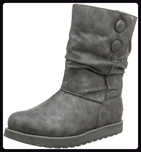 Skechers Damen Keepsakes Rhodium Stiefel, Grey (Ccl), 36 EU - Stiefel für c44a4e4240