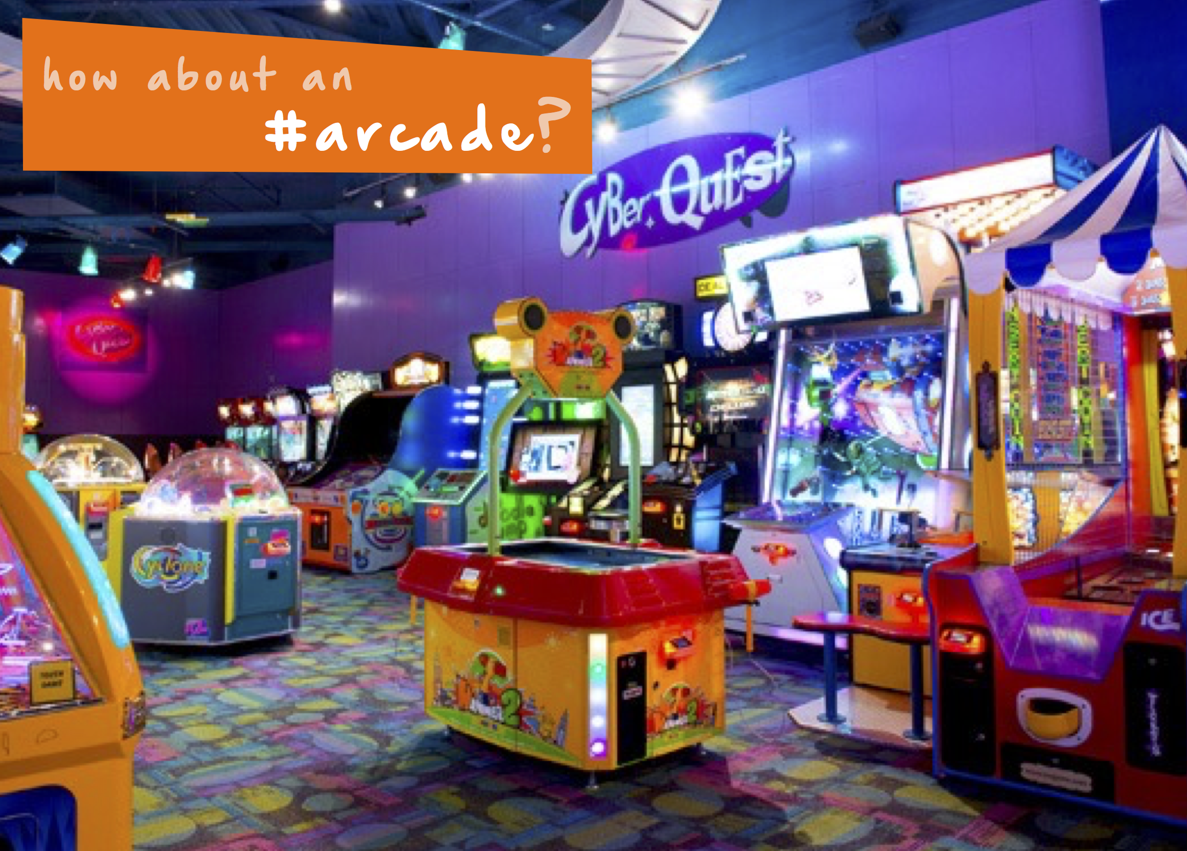 Play some games at your local arcade kids will love it