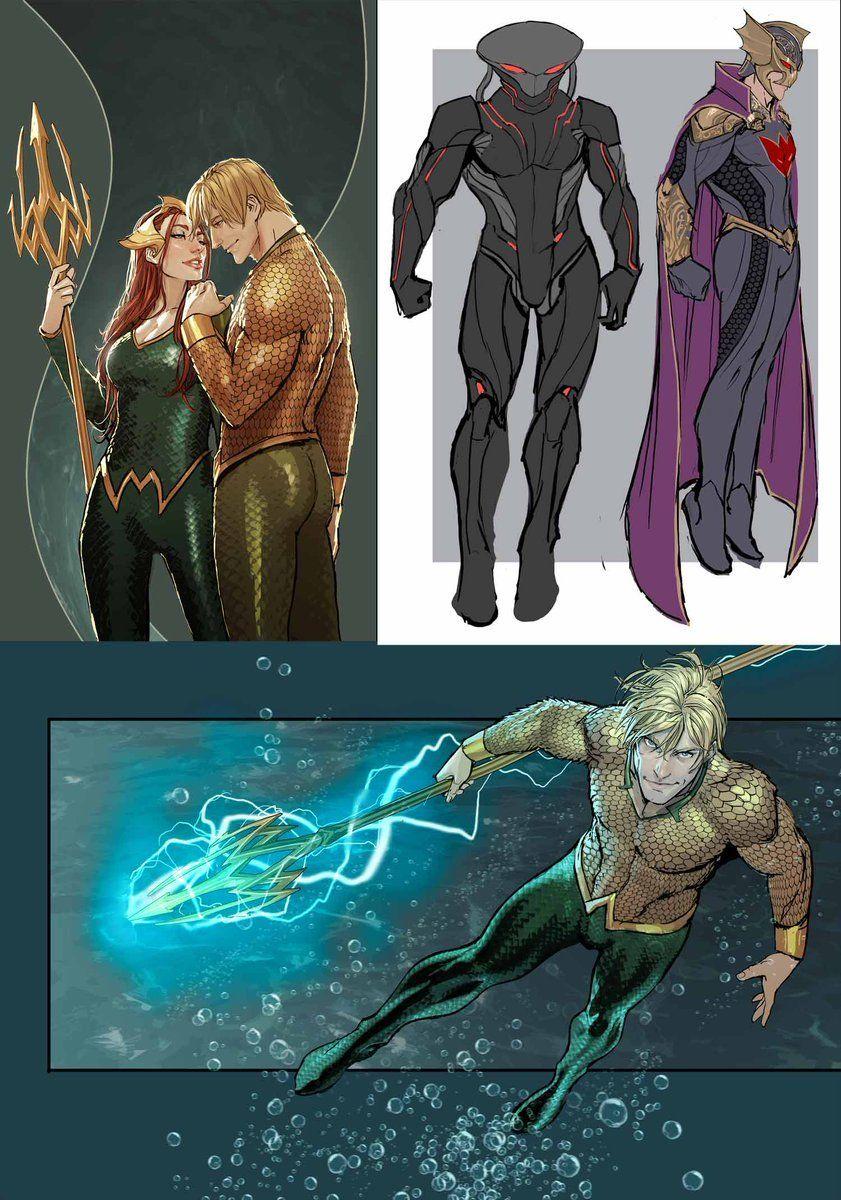 Mera Aquaman Concept Art