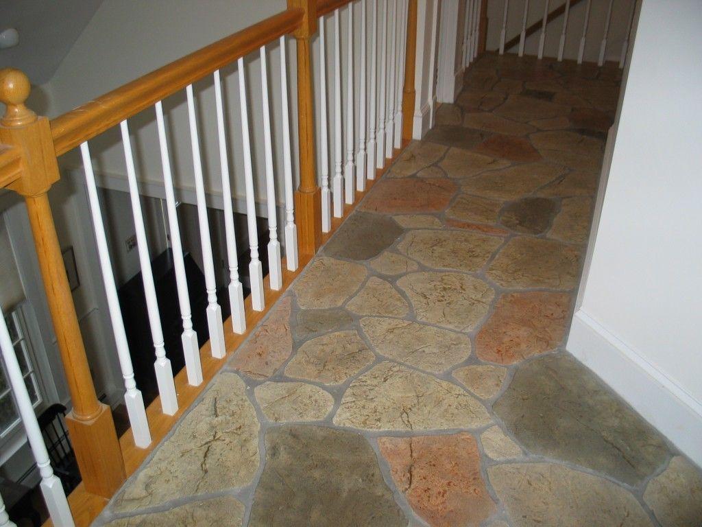 stained concrete indoor floor | ... Interior Flooring Interior Decorative Concrete – indoor stones