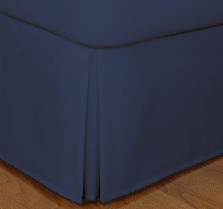 Navy Blue Bed Skirt Solid Bliss 400tc Blue Bedding Navy Blue Bed Bedskirt