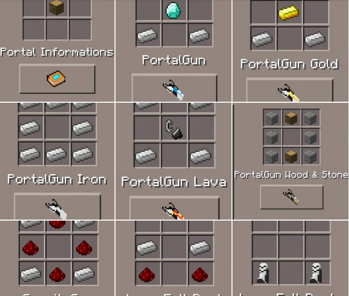 minecraft 1.5 2 portal gun mod download