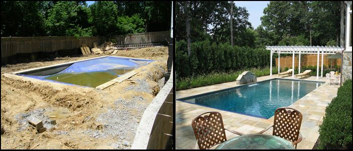 Amazing Before After Goodall Pools Spas Central PA