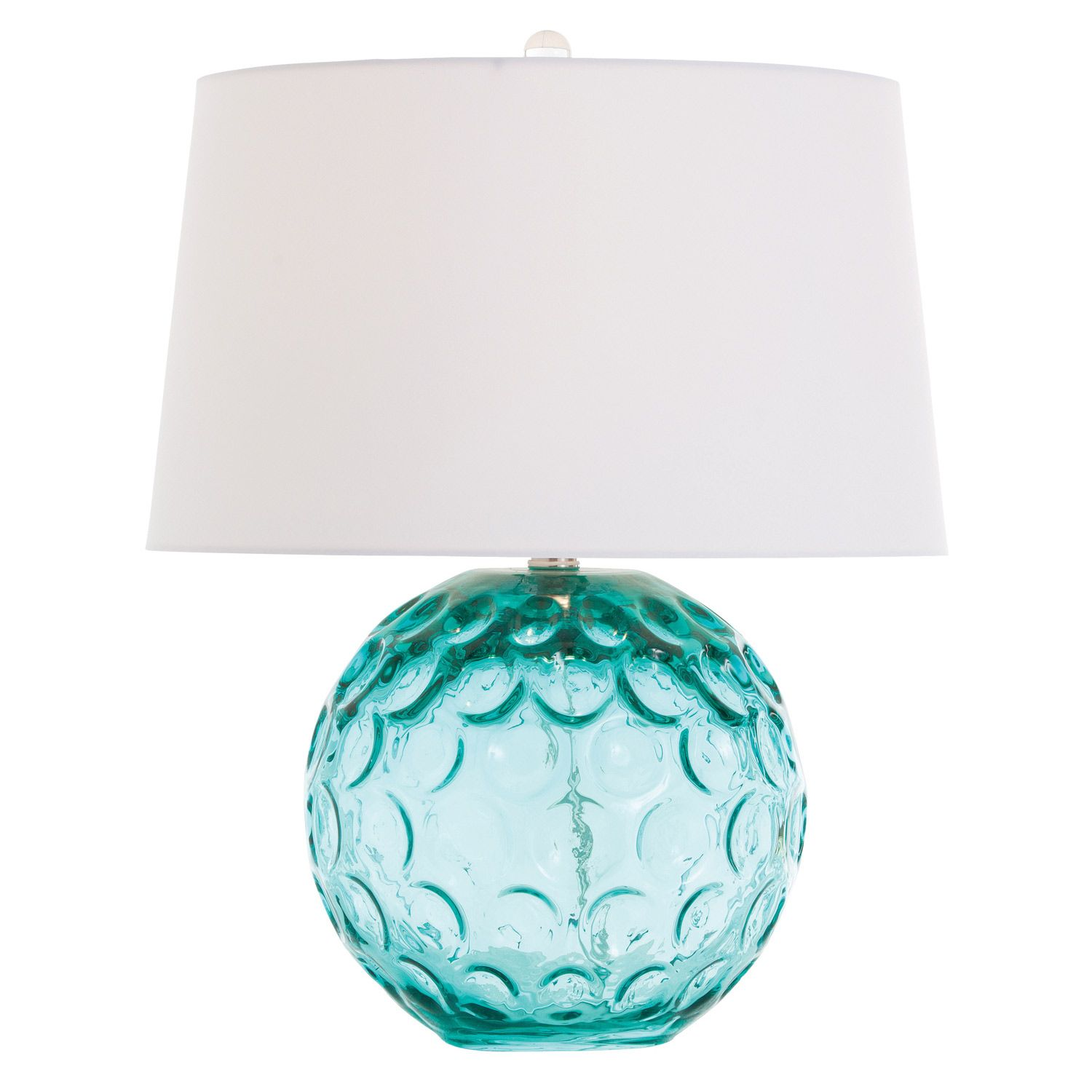 Arteriors Caprice Aqua Glass Lamp Zinc Door Renovation Resources