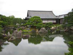 The Nijo Castle Gardens