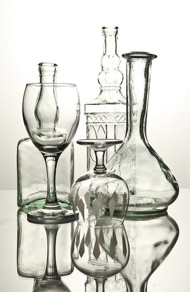 Old Glass and decanter