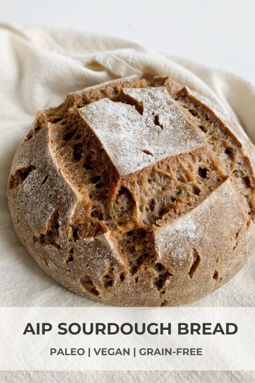 AIP Sourdough Bread (paleo, grainfree, vegan) • Heal Me