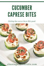 These keto cucumber Caprese bites are delightful The subtly cheesy taste of moz
