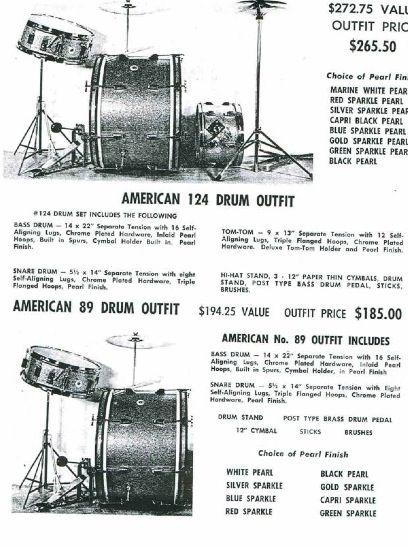 Kent 60s Catalog Courtesy To Coopersvintagedrums Vintage Drums Drums Kent