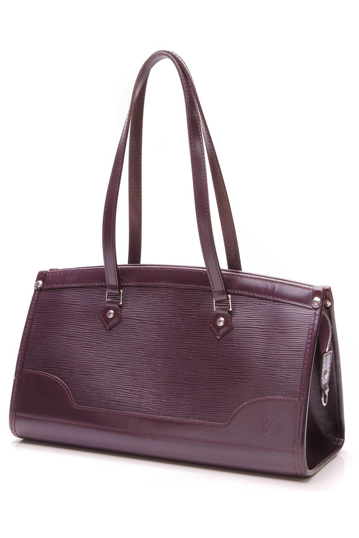 69c4dfb79661 Louis Vuitton Madeleine PM BAg - Purple