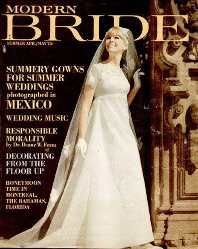 Modern Bride Magazine 1967 By Cemetarian Via Flickr