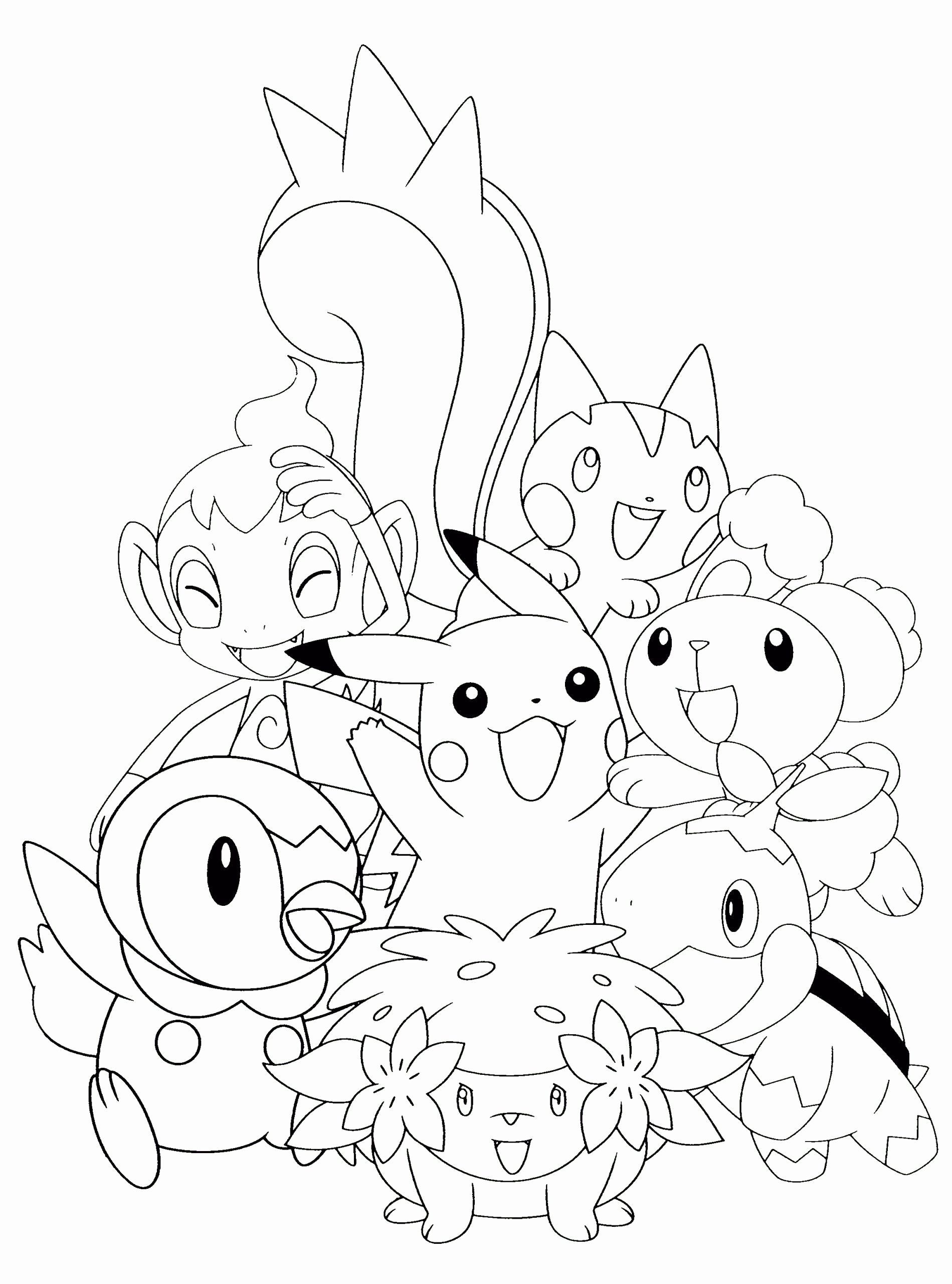34++ Anime coloring sheets pokemon trends