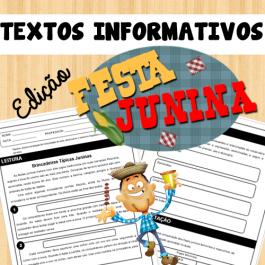 Código 572 Textos informativos - Edição Festa Junina