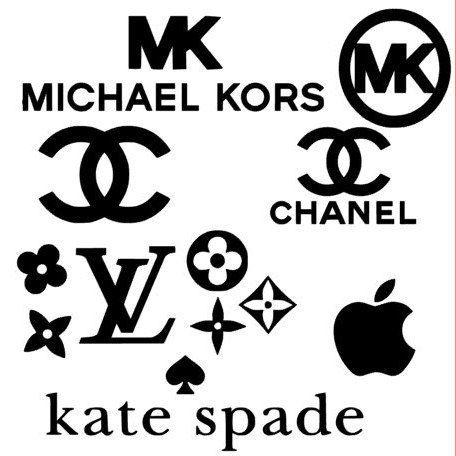 Mk Svg Lv Svg Chanel Svg Apple Svg Cutouts Planner Clips Coffee Mug Logo Sticker Small Canvas Art Fashion Logo