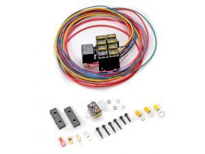 Painless Wiring 70107 Auxiliary 7 Circuit Fuse Block Circuit Fuses Auxiliary