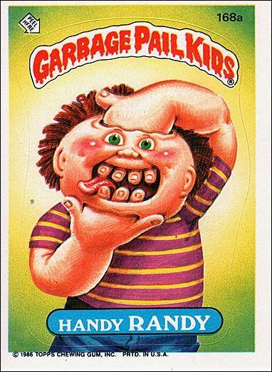 Garbage Pail Kids Cards Garbage Pail Kids Garbage Pail Kids Cards Kid Movies