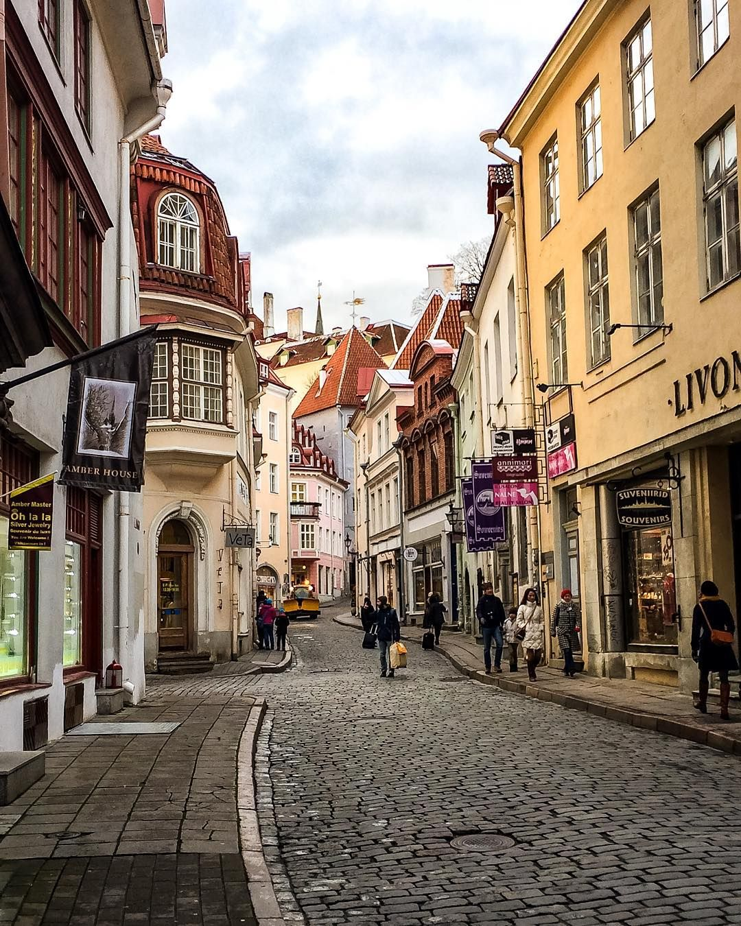 Our last stop was Tallinn Estonia. Probably the prettiest city we've been too! #Tallinn #Estonia #baltic #equationoflifetravel #travel #travelgram #instagram #instatravel #instapassport #medieval #instagood #instamood #instadaily #wanderlust #amazing #beautiful #pretty #love #nature #life #city #cold #winter #europe #street #architecture #vacation #trip by equationoflife