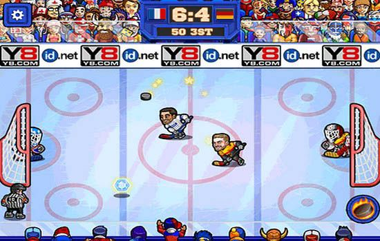 Play Online Hockey Sports Game Free At Atmegame Com Online Sports