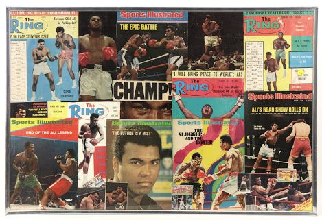 Auction Featuring MUHAMMAD ALI Signed Gloves, check it out: www.payitforwardauction.com