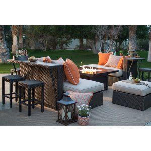 Patio Furniture Fire Pit Table Set Look More At Http://besthomezone.com