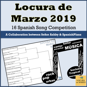 March Music Madness 2019 | Spanish | Music, Spanish songs, Current songs