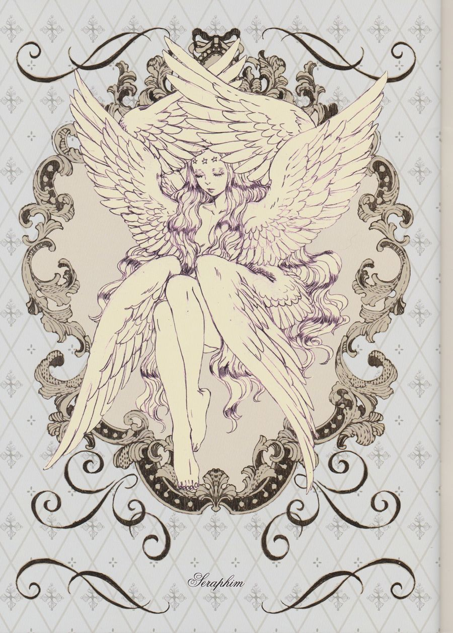 Sketches from a Celestial Sea - Guardian Angel