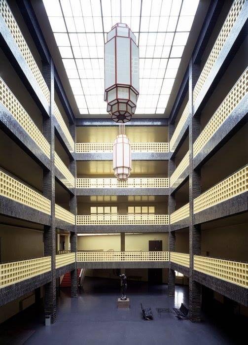Haus Des Rundfunks Berlin By Hans Poelzig 1929 1931 Hans Poelzig Architekt Architektur