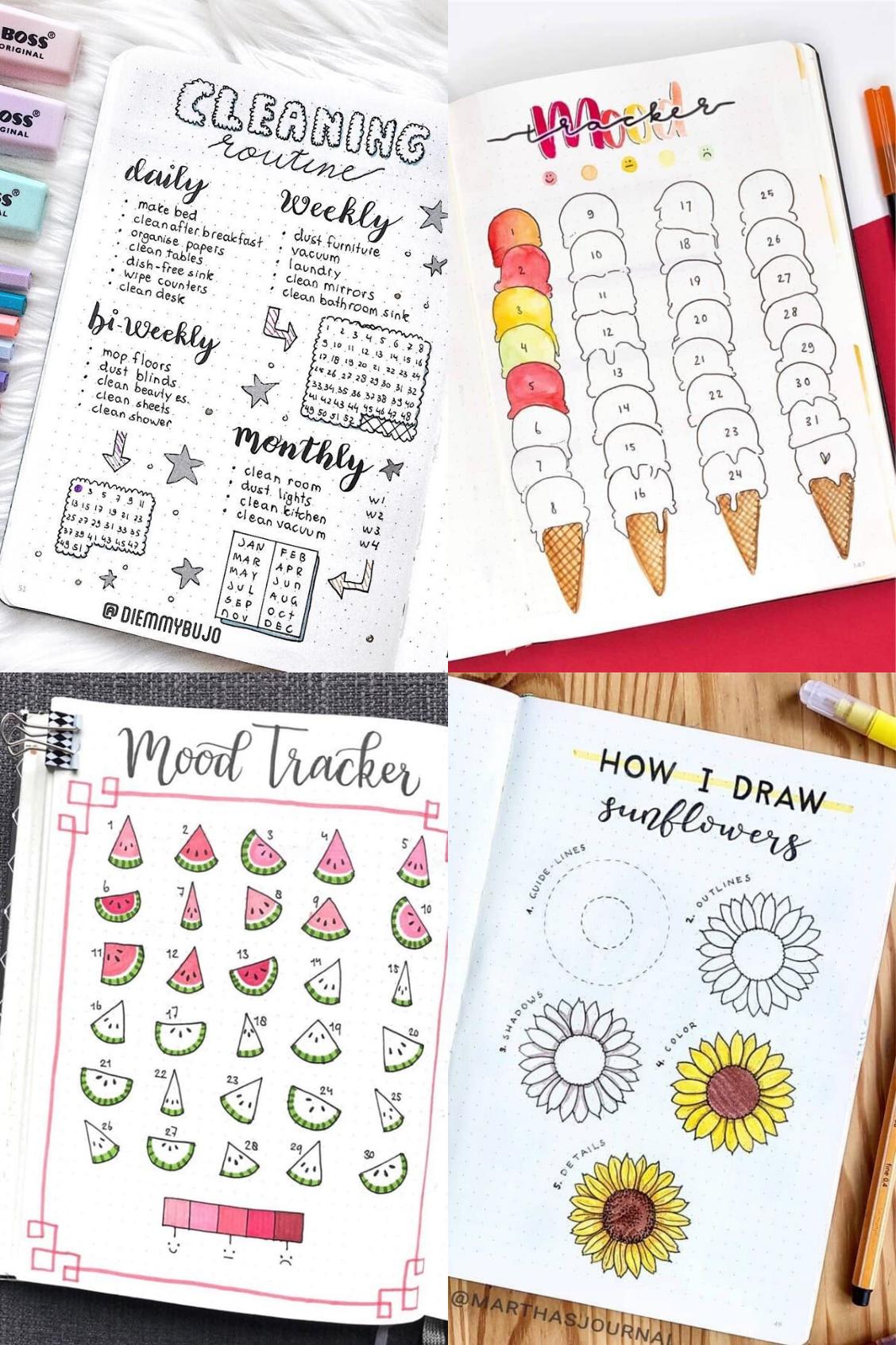 20 June Bullet Journal Ideas You'll Love   Its Claudia G   Bullet ...