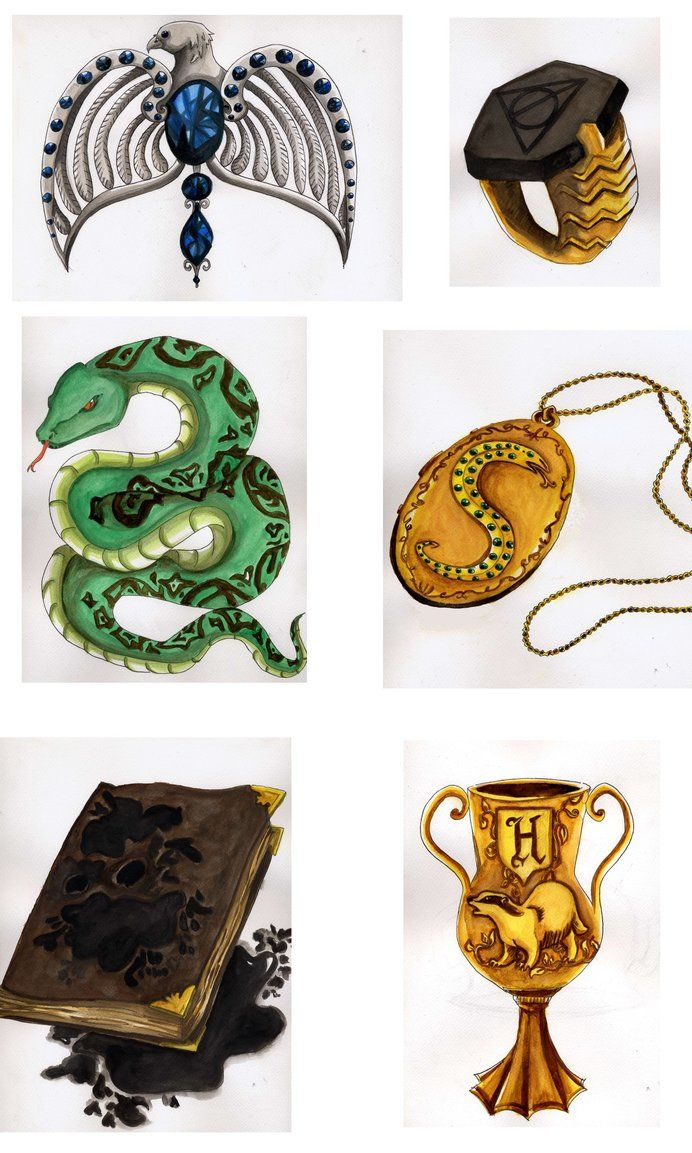 15++ The horcruxes information