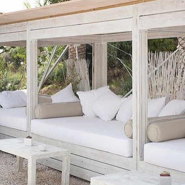 """Hope & May on Instagram: """"Living outdoors all summer long ... on Living Spaces Outdoor Daybed id=48980"""