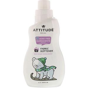 Attitude Little Ones Fabric Softener Sweet Lullaby 40 Loads 33 8 Fl Oz 1 L In 2020 Fabric Softener Baby Fabric Softener Tough Stain