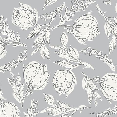 Unruly Terrace Bonnie Christine Removable Wallpaper #surfacepatterndesign