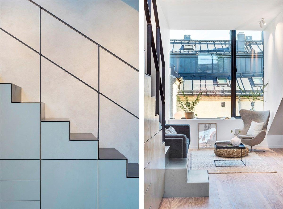 (2) FINN – Bolteløkka - Arkitekttegnet loftsleilighet fra 2016 med privat takterrasse og fjordutsikt. Heis vedtatt installert.