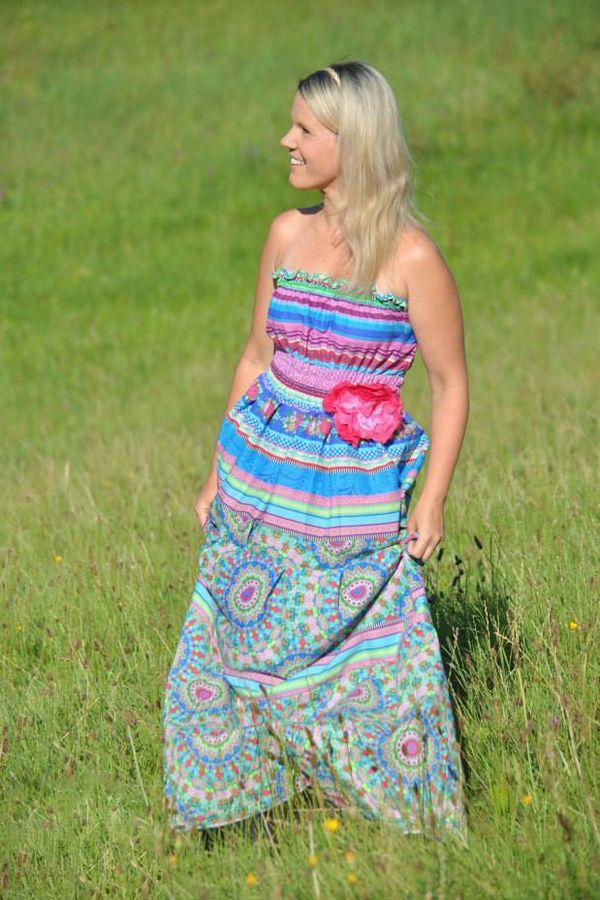 70s Kleid Ivy für Damen Nähanleitung - eBook - Nähanleitungen bei ...