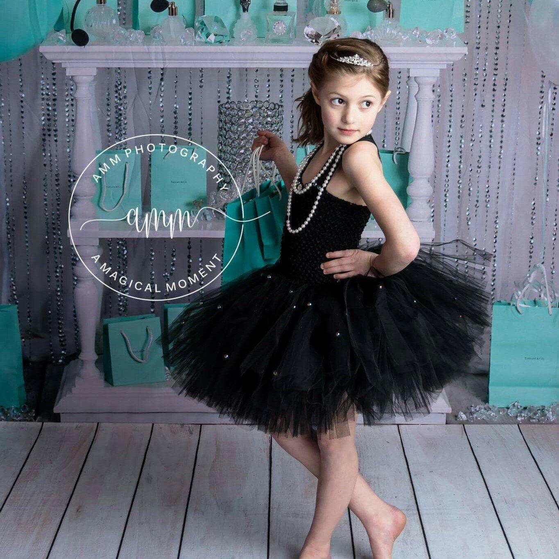 Black pearl dressblack pearlpearl dressblack tulle dressgirls