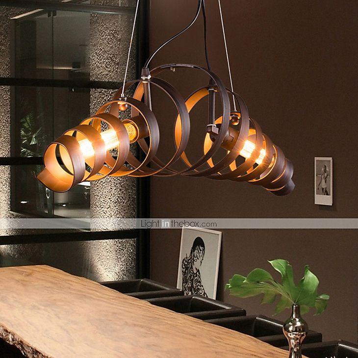Maishang 2 light circular chandelier downlight mini style 110 retro bar iron lamp modern minimalist industrial style chandelier 2015 9562 aloadofball Choice Image