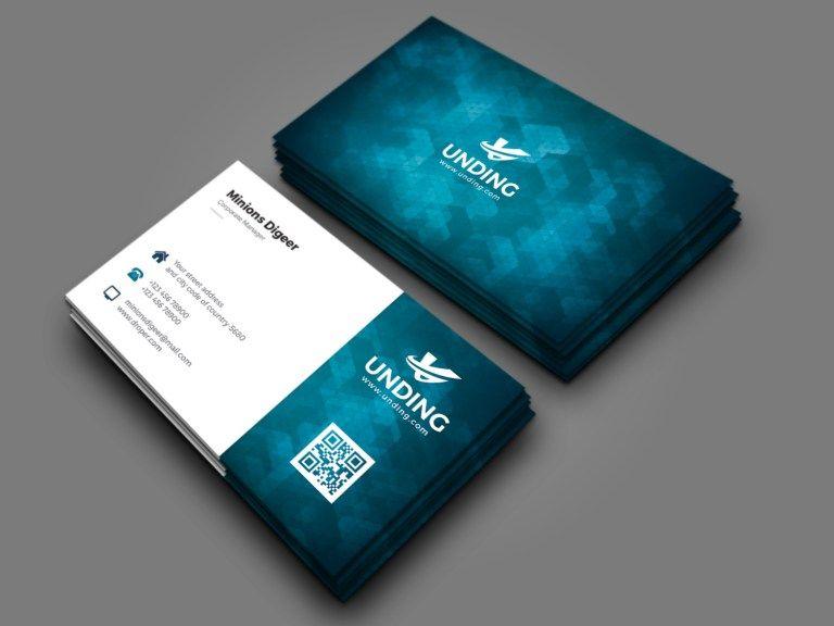 Aurora Professional Corporate Business Card Template In 2020 Company Business Cards Business Card Design Creative Corporate Business Card Design