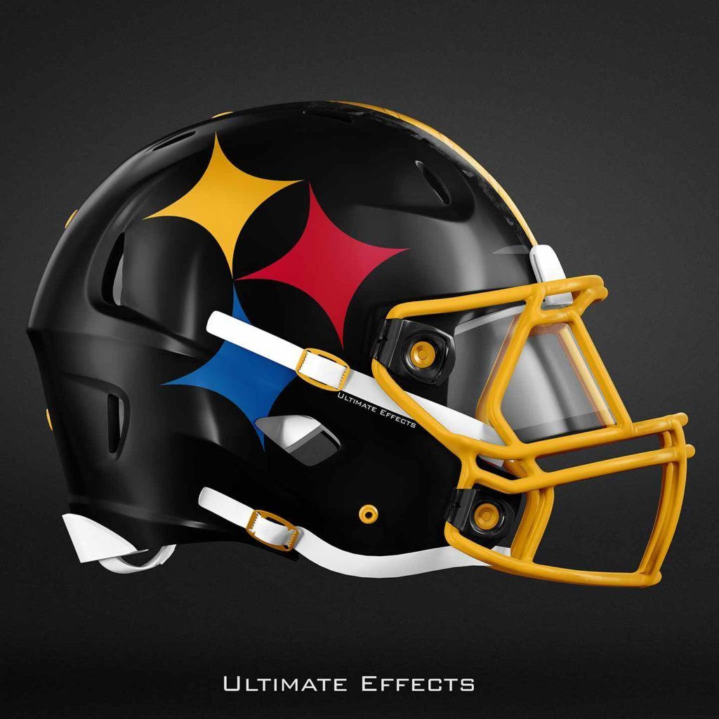 239a6f4a620 Designer Creates Awesome Concept Helmets For All 32 NFL Teams (PICS ...