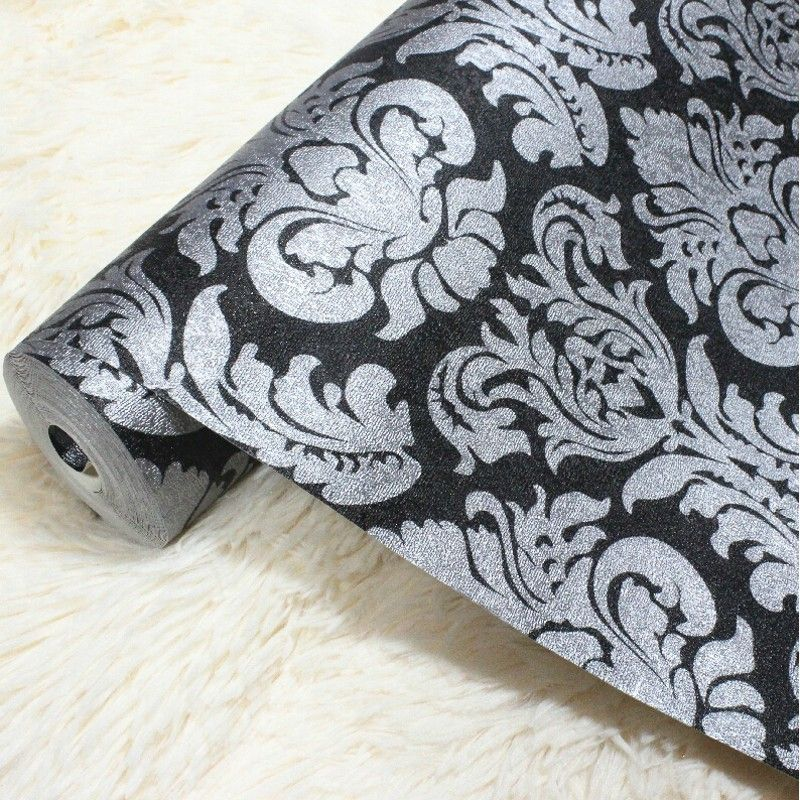 Cheap Damask Pattern Buy Quality Upholstery Directly From China Wallpaper Europe Suppliers ZY327