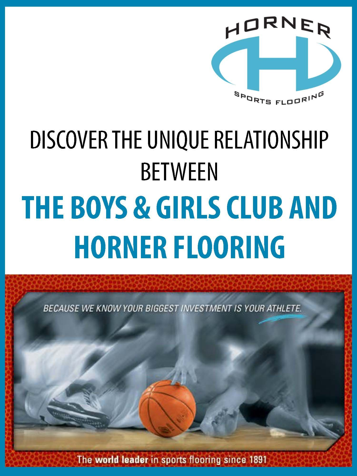 Lovely Discover The Unique Relationship Between The Boys Girls Club And Horner  Flooring