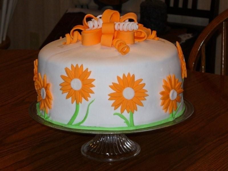 Fondant Birthday Cakes For Beginners This cake is THE reason for