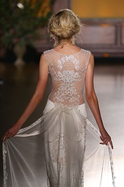 Wedding gown by Claire Pettibone.